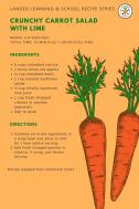Crunchy Carrot Salad recipe card