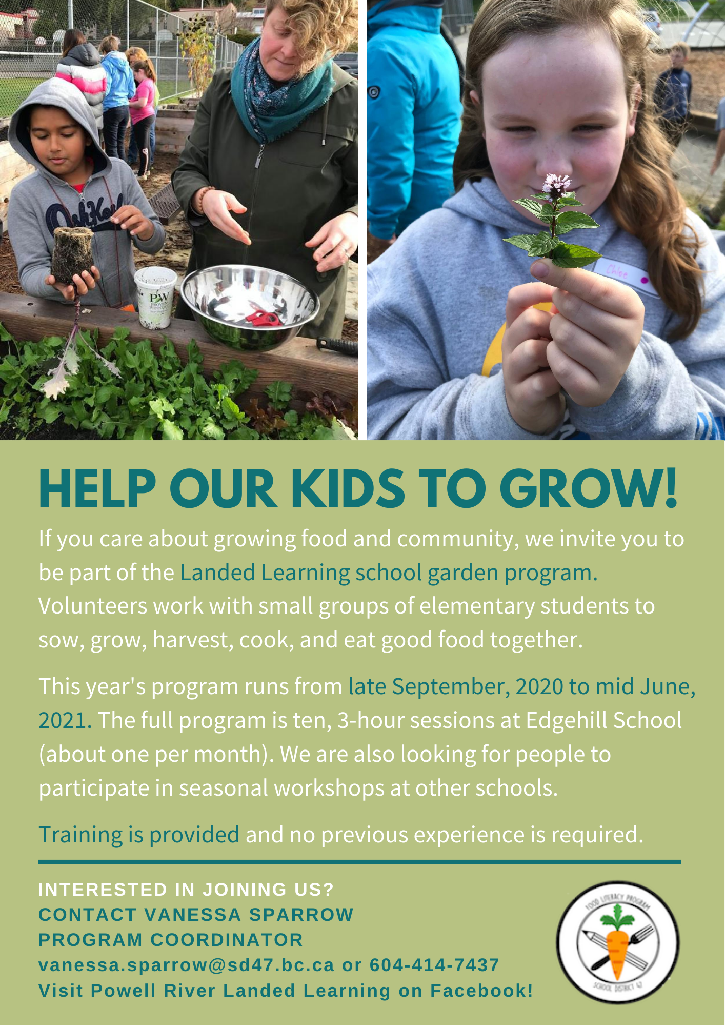 LL@School Volunteer Flyer 2020-21